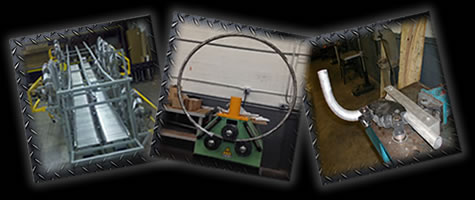 Tube bending, mig & tig welding, roll bending and powder coating all in house...only at EXTREME!