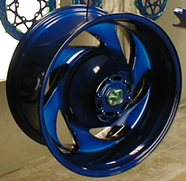 North Canton Ohio Summit County powder coating for your car, truck or motor cycle rims!